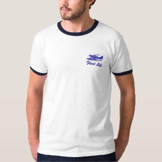 セスナ206 Floatplaneの環状のTシャツ Tシャツ