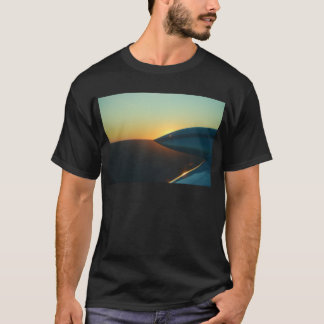 セスナ310からの日没 Tシャツ