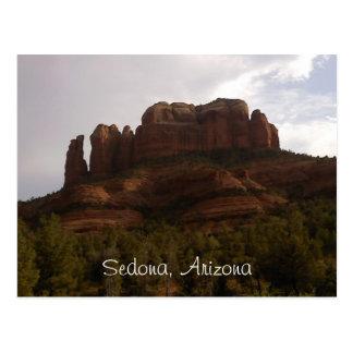 セドナのアリゾナの郵便はがき ポストカード