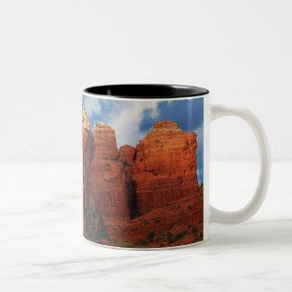 セドナのギフトのマグのコーヒーポットの石 ツートーンマグカップ