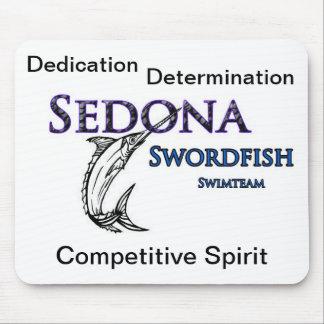 セドナのメカジキの水泳チームマウスパッド マウスパッド