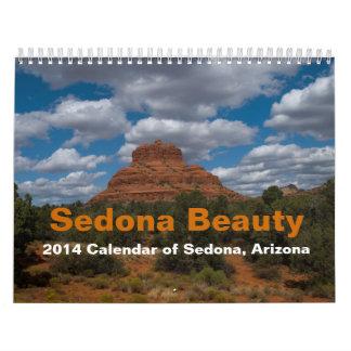セドナの美しい2014のカレンダー カレンダー