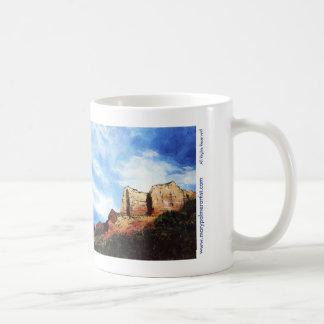 セドナ山のマグ コーヒーマグカップ