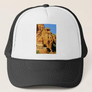 セドナ山の景色のエイリアンの彫像 キャップ