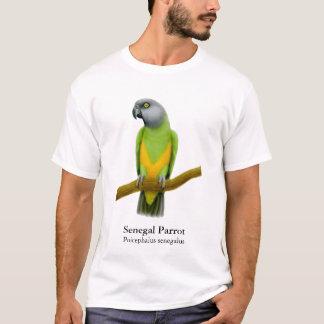 セネガルのオウムのTシャツ Tシャツ