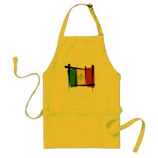 セネガルのブラシの旗 スタンダードエプロン
