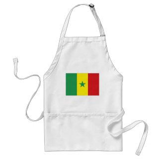 セネガルの国旗 スタンダードエプロン