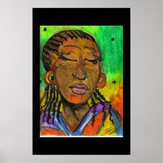 セネガルの女性 ポスター
