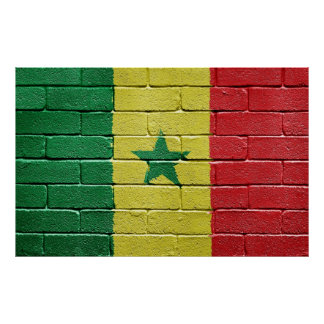 セネガルの旗 ポスター