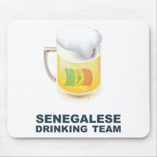 セネガルの飲むチーム マウスパッド