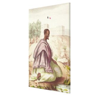 セネガルのMarabout キャンバスプリント