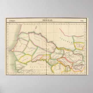 セネガルアフリカ ポスター