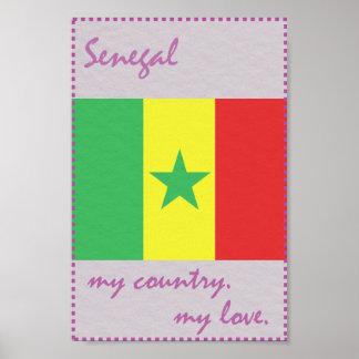セネガル私の国私の愛 ポスター