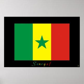 セネガル ポスター