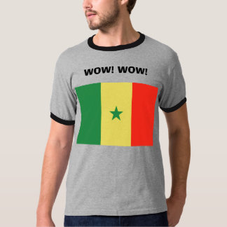 セネガル、WOW! WOW! Tシャツ