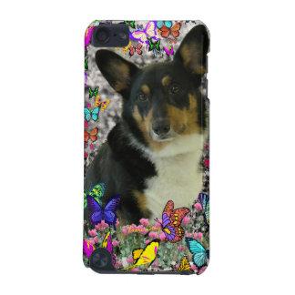 セバスチャン蝶のウェルシュコーギー iPod TOUCH 5G ケース