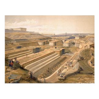 セバストーポリの「戦争Iの座席からのプレートの波止場 ポストカード