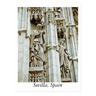 セビリア、スペインからの郵便はがき ポストカード