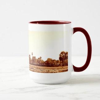 セピア色のアンコール・ワット マグカップ