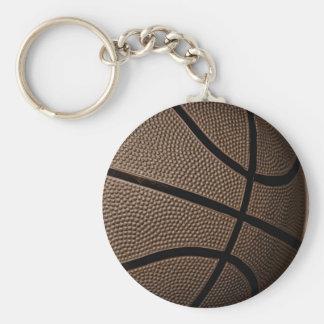 セピア色のバスケットボール キーホルダー