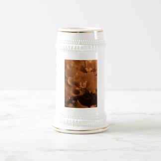セピア色のバラステイン ビールジョッキ