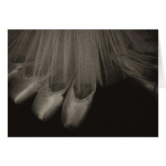 セピア色のバレエ カード