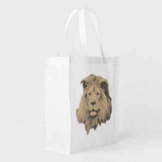 セピア色のライオン エコバッグ