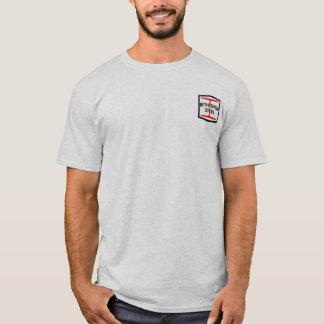 セピア色の写真が付いているベスレヘム・スチールのTシャツ Tシャツ