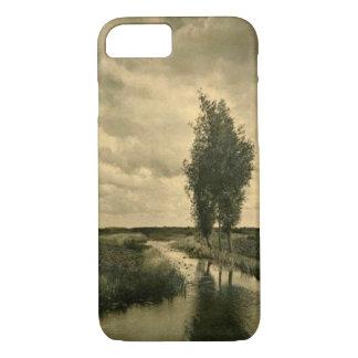 セピア色の景色のiPhone 7の場合 iPhone 7ケース