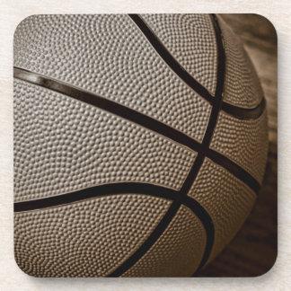 セピア色の調子のバスケットボール コースター