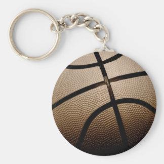 セピア色はバスケットボールにある調子を与えました キーホルダー