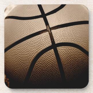 セピア色はバスケットボールにある調子を与えました コースター
