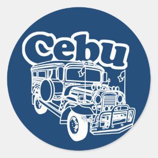 セブ州Jeepney ラウンドシール
