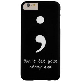 セミコロンのiPhone6ケース Barely There iPhone 6 Plus ケース