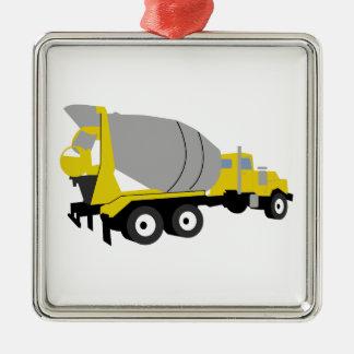 セメントのトラック メタルオーナメント