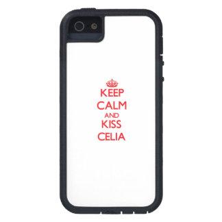 セリア穏やか、キス保って下さい iPhone 5 Case-Mate ケース