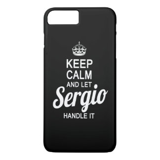 セルギオをそれを扱うことを許可して下さい! iPhone 8 PLUS/7 PLUSケース