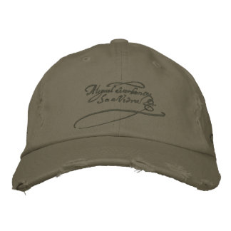 セルバンデスの署名刺繍-帽子Gorraのvisera 刺繍入りキャップ