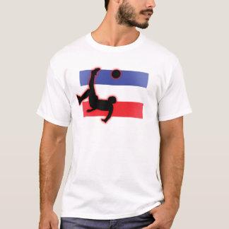 セルビアおよびモンテネグロのバイシクルキック Tシャツ