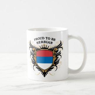 セルビアがあること誇りを持った コーヒーマグカップ