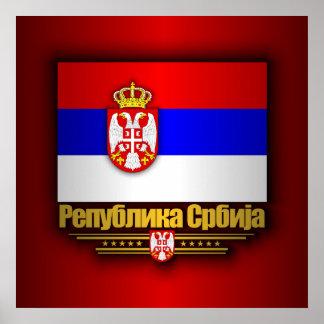 セルビアのプライド ポスター