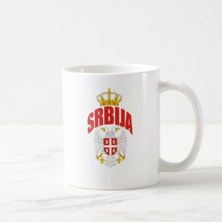 セルビアのラテン コーヒーマグカップ