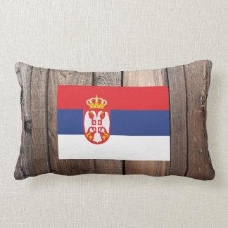 セルビアの国旗 ランバークッション