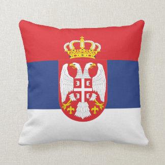 セルビアの旗の枕 クッション