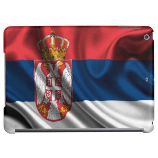 セルビアの旗の生地