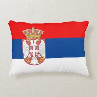 セルビアの旗 アクセントクッション