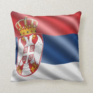 セルビアの旗 クッション