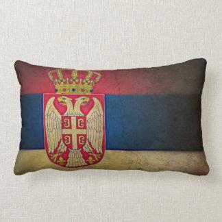 セルビアの旗 ランバークッション