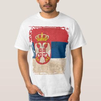 セルビアの旗 Tシャツ