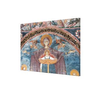 セルビアの正教会およびユネスコの場所、2 キャンバスプリント